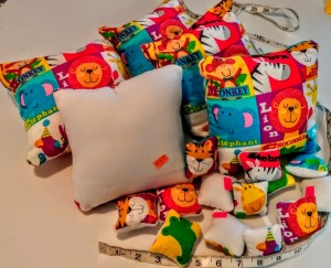 MIni Zoo Animal Pillows. Not for children under age 3