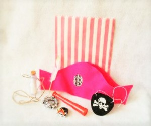 Pretty in pink pirate set fro No NOn-cents Nanna's HEART FELT PLAY STORE.