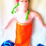 More Not So Creepy Dress-up Clothes:  Kids Mermaid Tail Aprons