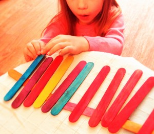 "How many ways can achild use a tongue depressors- besides ""stick out your rongue and say 'ahh'!?"