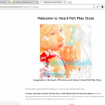 For Imaginative Kids Stuff Go to Heart Felt Play Store on Shopify