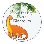 Rate Dinosaur Stuff for Kids Public Facebook Event· Hosted by Heart Felt Play Store